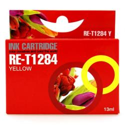 Συμβατό inkjet EPSON- T1284 YELLOW PREMIUM RE-T1284Y