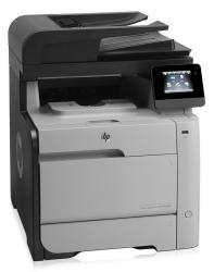 HP used Εκτυπωτής LaserJet M476dn, Color, MFP, με toner U-M476DN