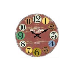 Ρολόι Τοίχου Γυάλινο 30cm 66021
