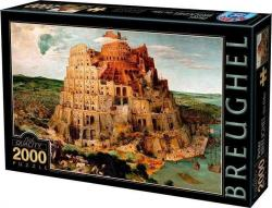 Παζλ 2000τεμ. Breuchel The Tower of Babel D-toys 72900BR01