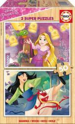 Πάζλ Princesses  Ξύλινο 2x50 Εduca 17165 2374
