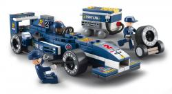 "SLUBAN Τουβλάκια 1:32  Racing Car ""Blue Lightning"" M38-B0351, 196τμχ"