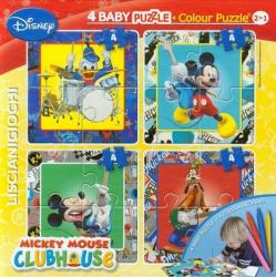4 Baby Παζλ 4 Κομματιών Mickey Mouse LISCIANI 40681 C02G0560075