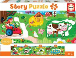 The Farm Story Puzzle 26τμχ 18900