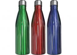 Θερμός Μπουκάλι Στενό Στόμιο 25x7cm 750ml Homie 80-1938