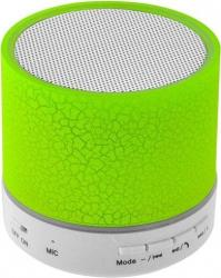Lamtech Bluetooth Speaker Led Light with FM Green LAM020267