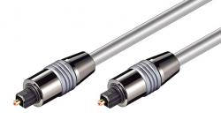 POWERTECH Toshlink male to male OD 6.0mm, 1.5m, metal CAB-O006