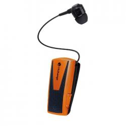 Retractable BT Headset w App UA42 Orange iXchange UA42-3