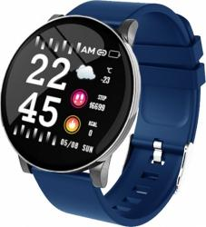 SW AW8 Smart Watch Fitness Blue Silver SWAW8BS