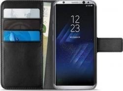 Θήκη Puro Bookstyle Wallet για Galaxy S8 Μαύρη SGS8BOOKC4BLK 2388