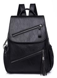 Γυναικεία τσάντα πλάτης LBAG-0003, μαύρη UNBRANDED LBAG-0005