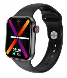 """HIFUTURE smartwatch HiTIME, 1.75"""", IP68, heart rate monitor, μαύρο HITIME-BK"""
