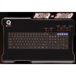 Ενσύρματο Πληκτρολόγιο Slim KBQ-2020 Q-Tech