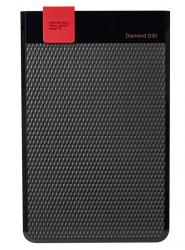 SILICON POWER Εξωτερικός HDD 2TB Diamond D30 D3L, USB 3.1, Black SP020TBPHDD3LS3K