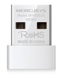 MERCUSYS Wireless Nano USB Adapter MW150US, 150Mbps, Ver. 2