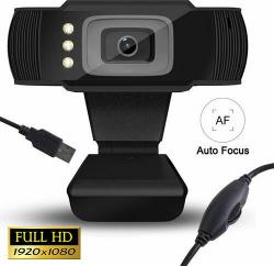 Lamtech Full HD USB Web Camera With Led LAM021509