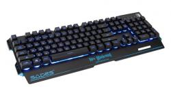 SADES Gaming Keyboard Neo Blademail, RGB Backlit, Membrane SA-KB104S